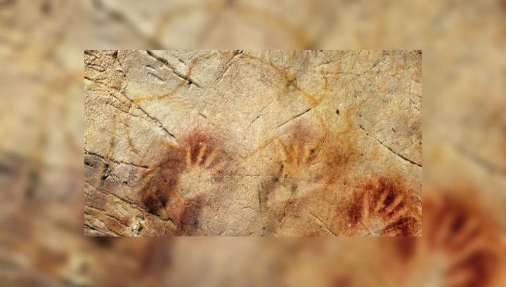 Очертания рук в красном цвете возрастом 40800 лет могут быть делом рук неандертальца