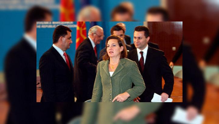 Замглавы госдепа нецензурно высказалась о роли ЕС в кризисе на Украине