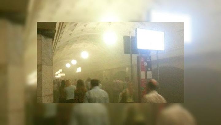 В московском метро пострадали 15 человек, среди них - ребенок