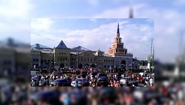 Авария в метро вызвала в Москве нетипичные пробки