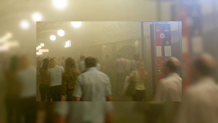 Дым в метро: главный электрик уволен, главный инженер получил выговор