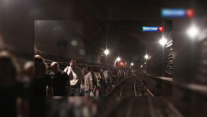 Пожар в московском метро: ликвидировать последствия будут всю ночь