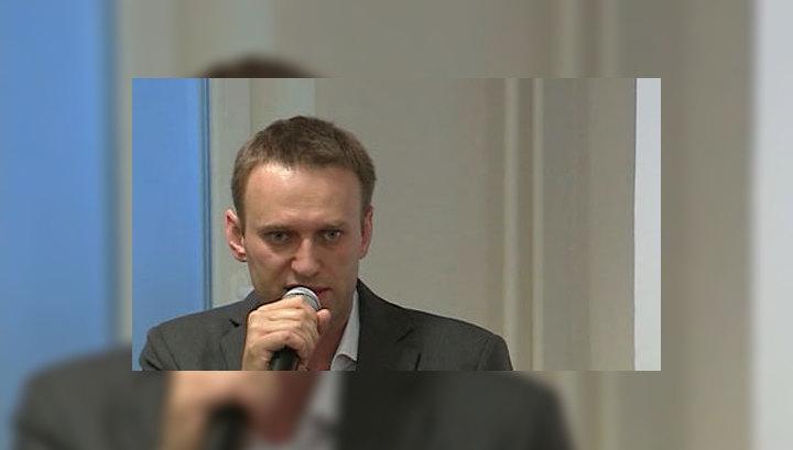 Навальный сдал подписи в Мосгоризбирком