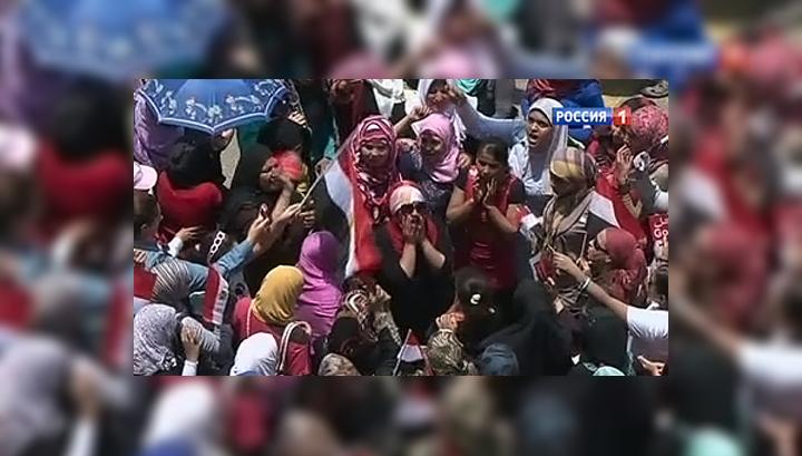 В ходе столкновений в Каире погиб один человек, десятки пострадали