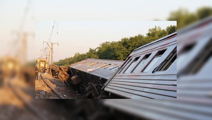 В Сочи к врачам обратились 7 пассажиров аварийного поезда