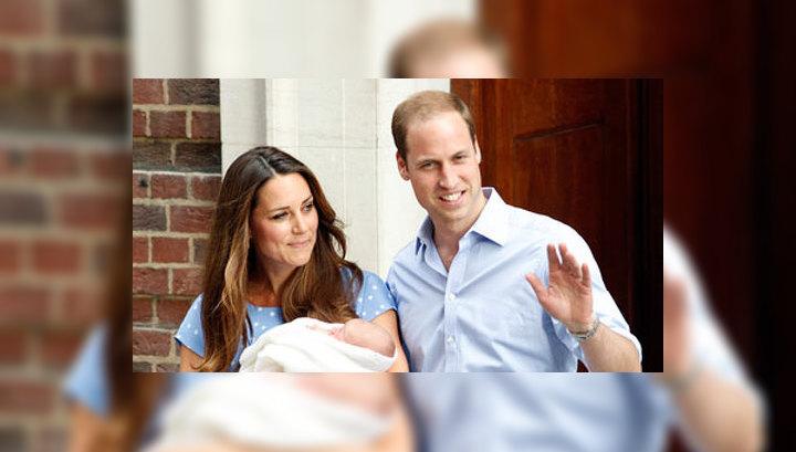 Нового британского принца показали публике