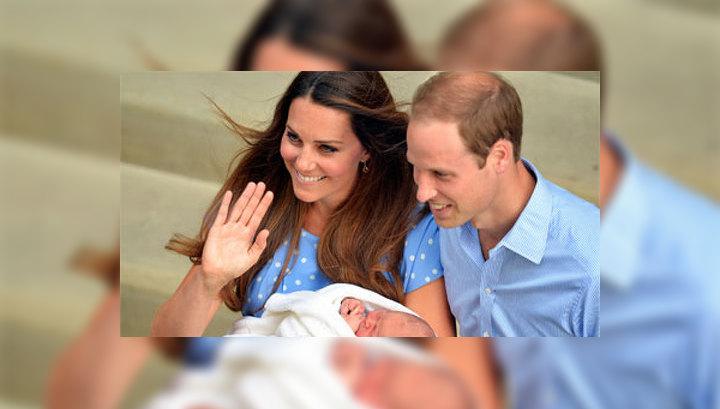 Кейт и Уильям не могут договориться, на кого похож маленький принц