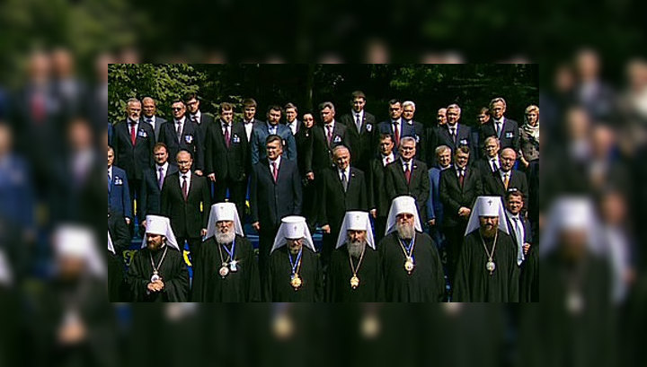 В День Крещения Руси в Киев собрались все иерархи планеты