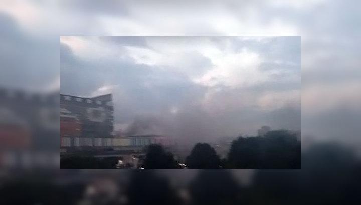 """Пожар в телецентре """"Останкино"""" ликвидирован"""