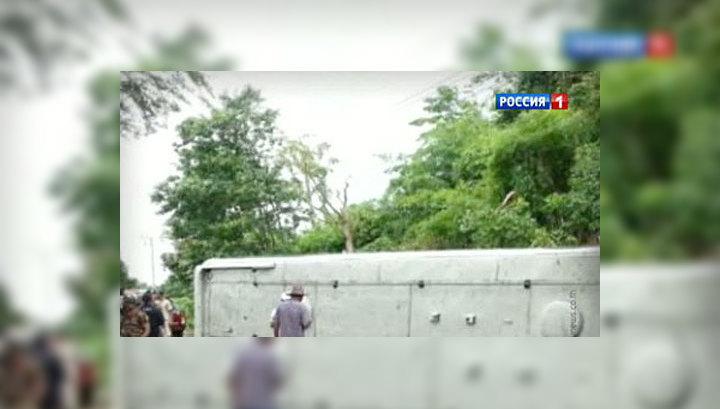 В Таиланде в результате аварии пострадали 26 россиян