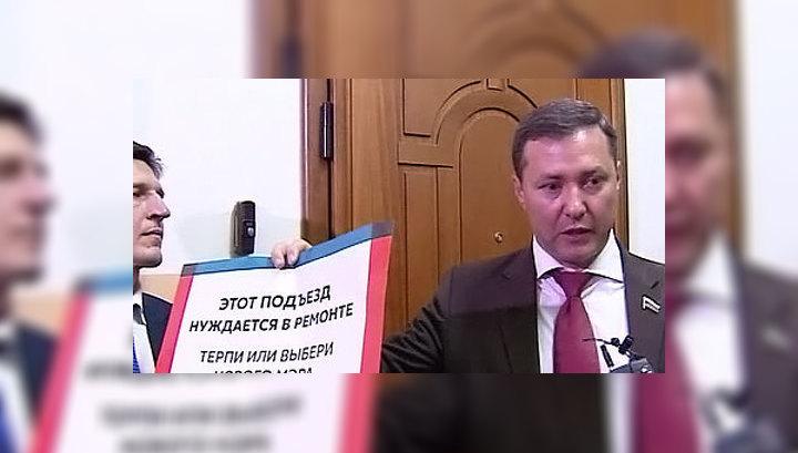 Незаконная агитация: Левичев подал в Мосгоризбирком жалобу на Навального