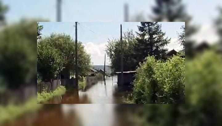 Уровень воды Амура возле Хабаровска достиг 797 сантиметров