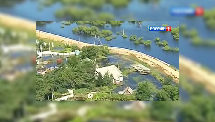 Уровень воды в Амуре в районе Хабаровска достиг 790 сантиметров