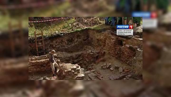 В Выборге археологи нашли кирпичные опоры трёхвековой давности