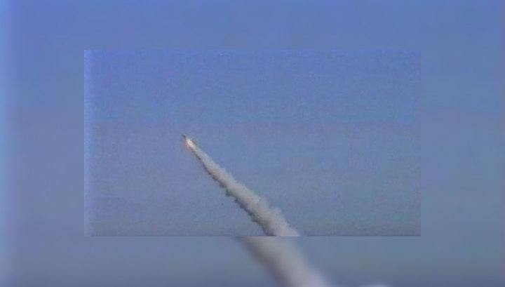 Российские подлодки запустили две баллистические ракеты