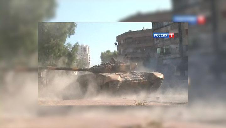 Жители Дамаска готовятся к худшему