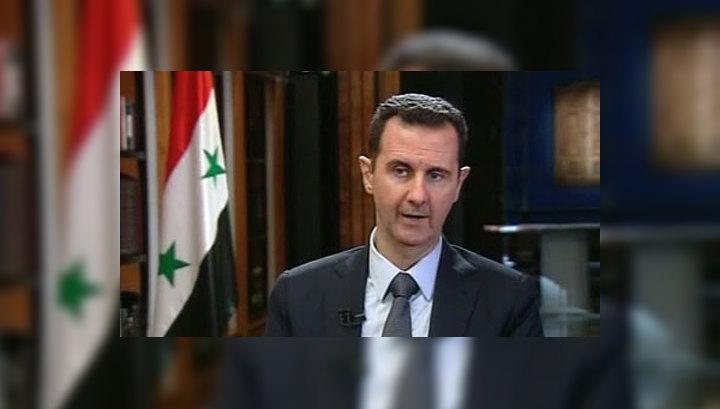 Башар Асад: террористы провоцируют США напасть на Сирию