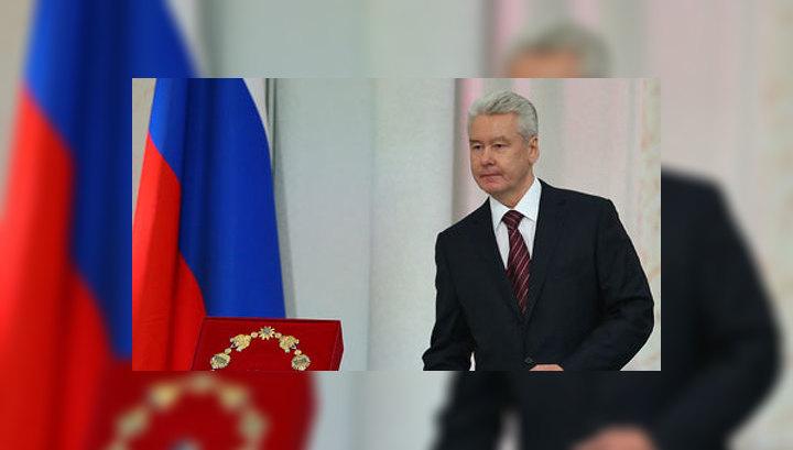 Собянин пообещал и дальше честно служить москвичам