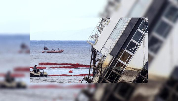 Рискованный маневр: капитан Costa Concordia умышленно подвел лайнер к берегу