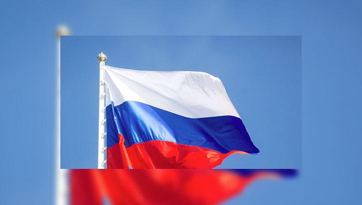 В Харькове митингующие подняли российский флаг над областной госадминистрацией