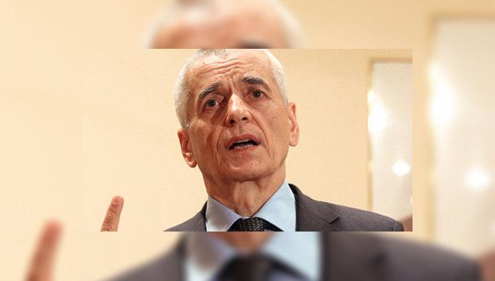Онищенко назначен помощником премьер-министра РФ