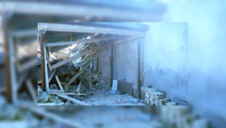 В Дагестане полиция взорвала мастерскую террористов