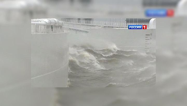 """Наступление """"Святого Иуды"""": дамба спасла Петербург от наводнения"""
