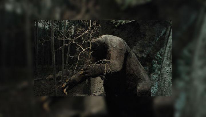 Чучело гигантского ленивца