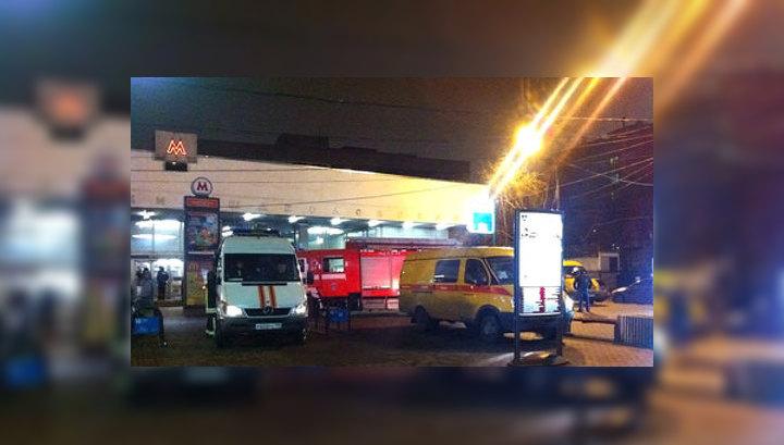 """""""Шаболовскую"""" открыли для входа и выхода пассажиров"""