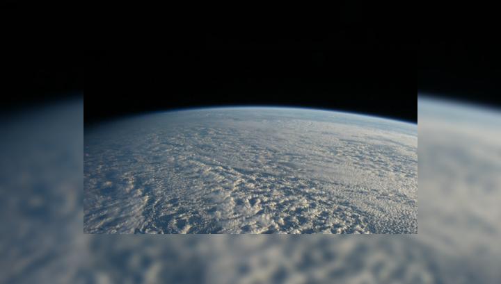 Вид на Тихий океан из космоса