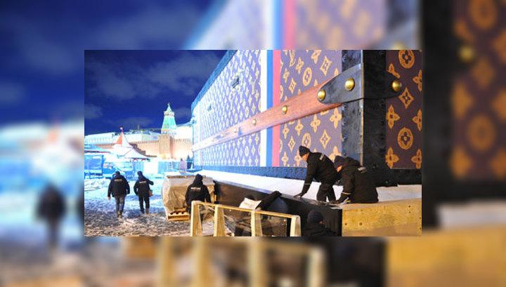 За чемодан на Красной площади компанию Louis Vuitton оштрафовали на 10 тысяч рублей