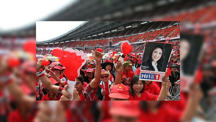 Премьер Таиланда отказалась передать власть народу