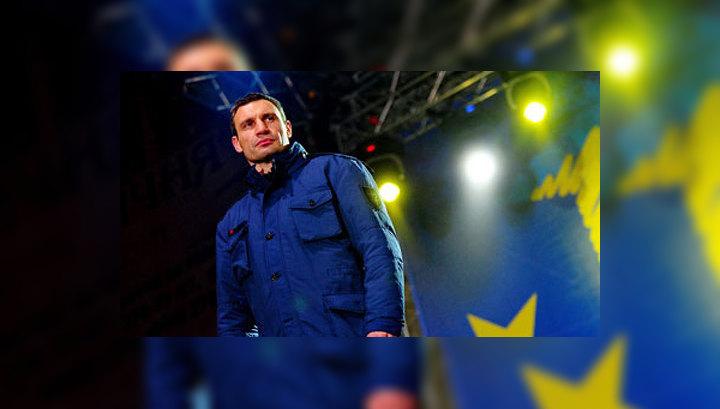 Кличко собирается стать президентом Украины