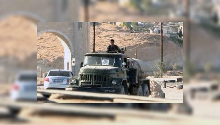 Действия сирийских боевиков привели к приостановке военной помощи со стороны Запада