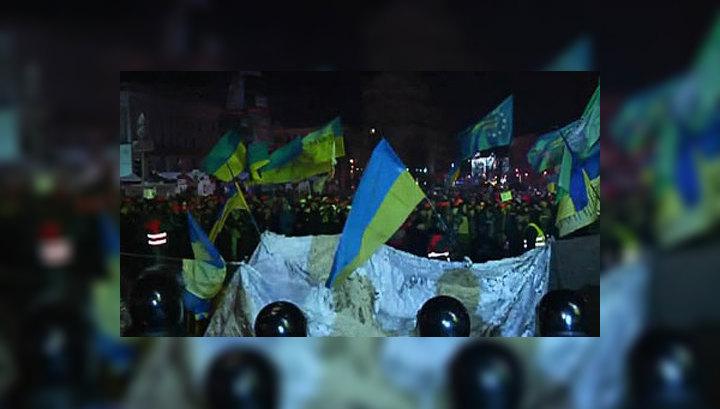 МВД Украины: беспорядки в Киеве планировались заранее