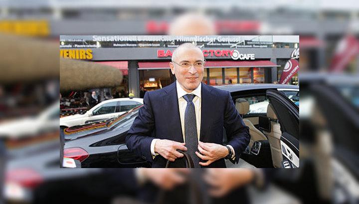 Ходорковский попросил пустить его в Швейцарию