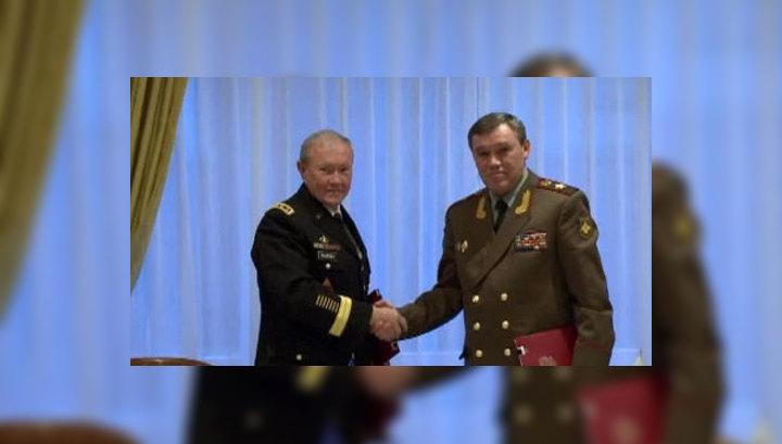 Главы генштабов России и США провели встречу в Брюсселе