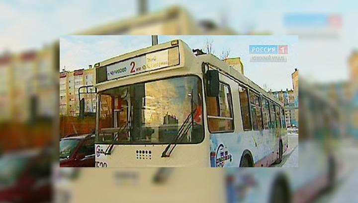 В Челябинске начал курсировать электробус