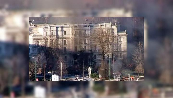 Столкновения в Сараеве не стихают
