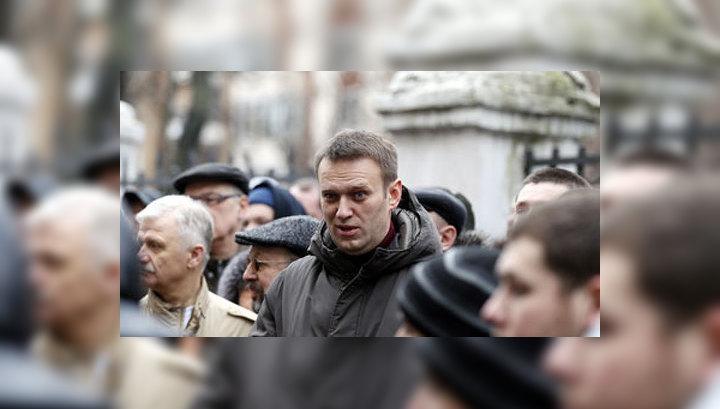 Навального задержали у Замоскворецкого суда