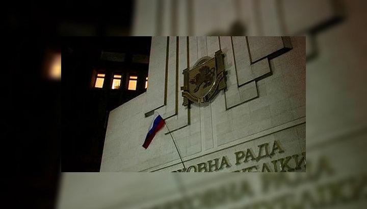 Крым сплотился под российским флагом