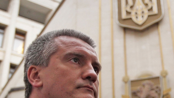 Киев объявил в розыск крымского премьера Аксенова