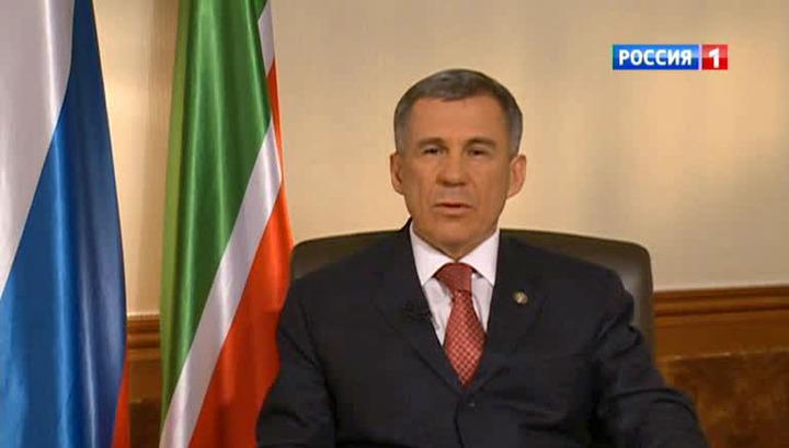 Рустам Минниханов: татары не хотят, чтобы Майдан перешел в Крым
