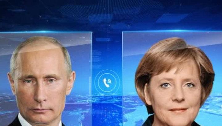 Путин и Меркель требуют тщательно расследовать крушение Boeing