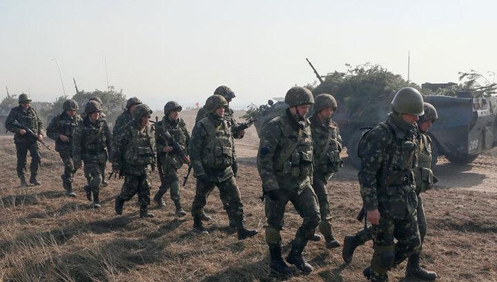 На Украине проходят протесты против мобилизации военнослужащих