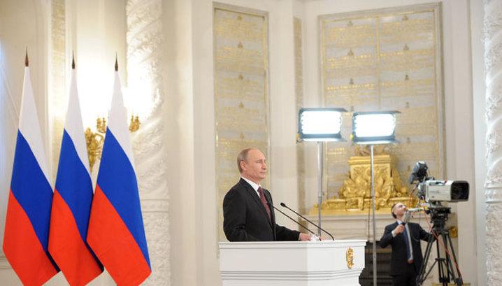 Путин о политике Запада: все имеет свои пределы