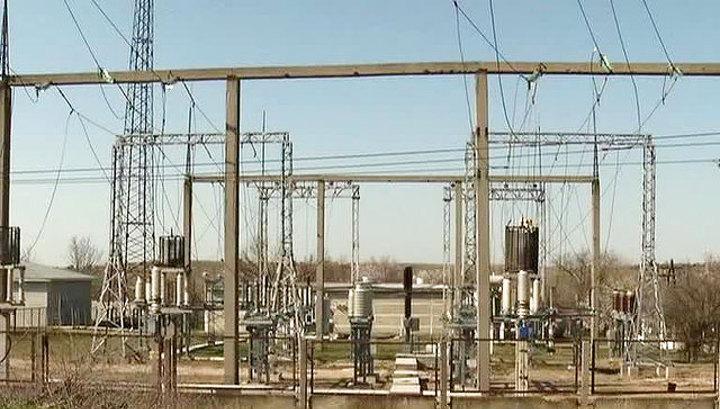 В Крыму произошло масштабное отключение электроэнергии