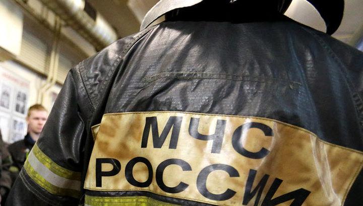 На северо-западе Москвы горит типография