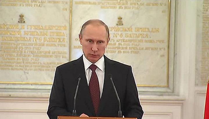 Путин приказал передать Украине оружие крымских частей, не перешедших на сторону России