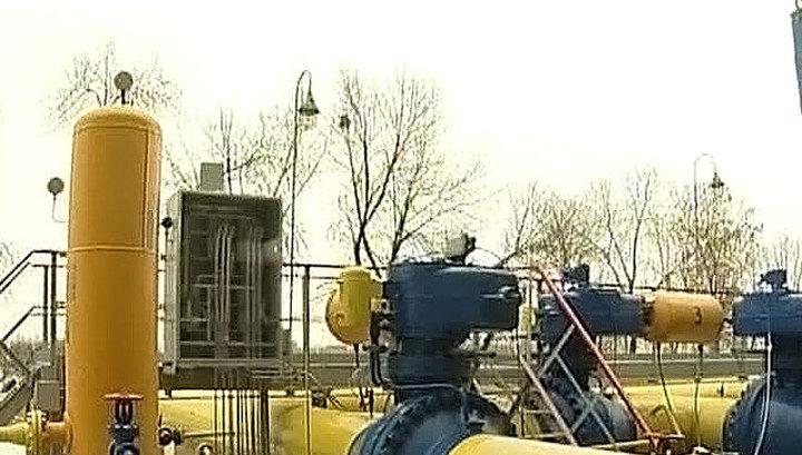 Украина прекратила закачивать российский газ